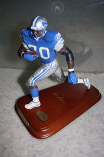 Barry Sanders Danbury Mint Detroit Lions NFL Football Figurine