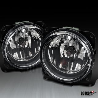 00 04 FORD FOCUS SVT CLEAR FOG LIGHTS DRIVING LAMP w/ SWITCH