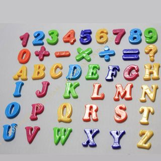 Alphabet Number Sign Fridge Magnet Baby Educational Toy JZ9