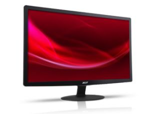 Acer S201HL 20 Widescreen LED LCD Monitor Black