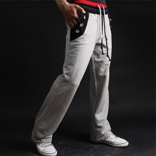 Mens Casual Bootcut Training Active Pants PS03