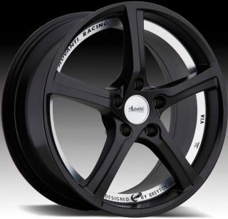 18x8 Advanti Racing 15th Anniversary 5x114 3 ET50 Matte Black Rims