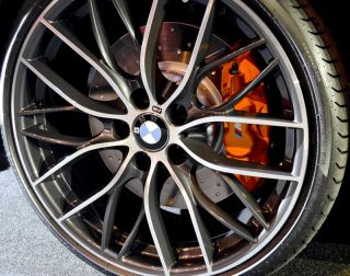 bmw m performance double spoke wheels 405m close up s 1