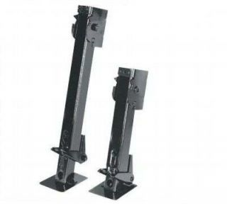 SWING FOLD DOWN ADJUSTABLE CARGO UTILITY TRAILER STABILIZER JACKS PAIR