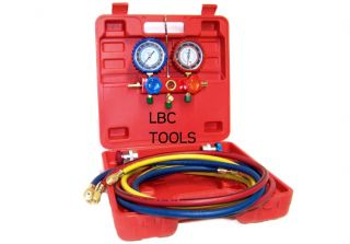 Air Conditioning AC Diagnostic Manifold Gauge Tool R12 R22