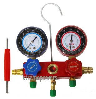 Manifold Gauge HVAC A C Refrigeration for Air Condition System