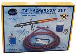 Paasche TS SET Talon Siphon Feed Double Action Airbrush Set