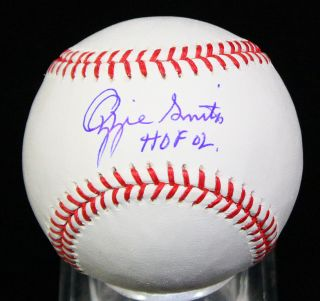 Ozzie Smith Signed Autographed HOF 02 OML Baseball Ball PSA DNA
