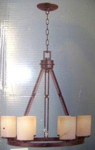 hampton bay alta loma 6 light chandelier 125 888