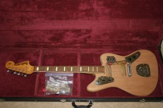 1960s Fender Jaguar Service Mans Vintage Electric Guitar Project w