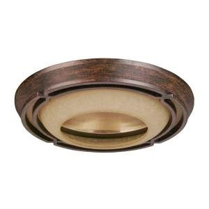 Set of 2 Hampton Bay Alta Loma Dark Ridge Bronze Trim 6 in. Recessed