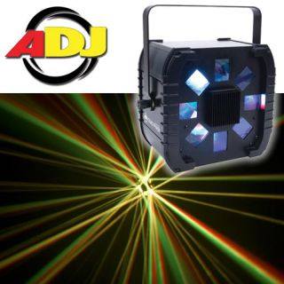 American DJ Quad Phase LED RGB Tri Color Moonflower Lighting Effect