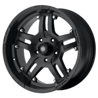 American Racing ATX Series Black Artillery Wheel 18x9 5x135mm