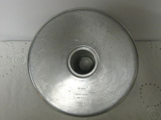 Vintage WEAR EVER Aluminum Round Tube Pan #2734 10 x 4 Bundt Cake