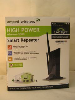 Amped Wireless High Power Wireless N Smart Repeater and Range Extender