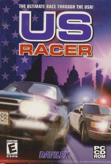 US RACER   Auto Car USA Racing Simulation PC Game   BRAND NEW in BOX