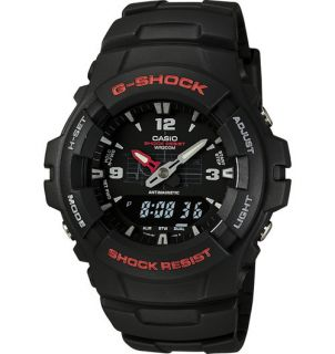 Shock G100 1BV Mens Analog Digital Watch Classic G Shock