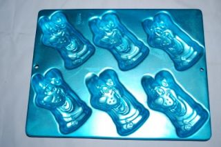 Wilton Scooby Doo Cake Pan Mold 6 Mini Treats Birthday Party or Dog