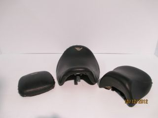 100TH ANNIVERSARY HARLEY DAVIDSON ROAD KING FLHR SEATS BACK PAD