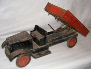 Antique Toy Dump Truck Son NY 1920s Keystone Heavy Duty
