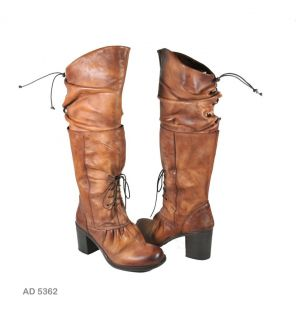 Area Forte Ad 5362 Varsavia Sig Brown Knee High Boot 39 9 Orig 498 00
