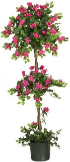 Quality Artificial Fake Silk Bougainvillea Topiary Tree Plant