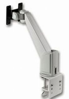 TFT Monitor Arm Desk Mount Beige Desktop Wall Mount for TFT LCD