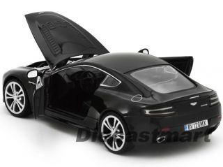 MOTORMAX 124 ASTON MARTIN V12 VANTAGE NEW DIECAST MODEL CAR BLACK