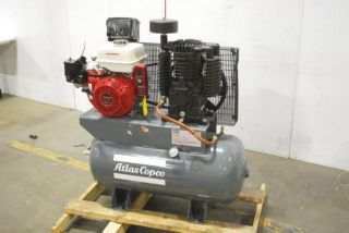 Atlas Copco 13 HP Honda Engine Gas Air Compressor KTG13H