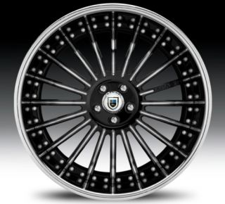 19 asanti AFC402 Black Chrome Wheels Rims 3 Piece