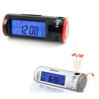 Sound Voice Control Projection Alarm Clock And Thermometer 200 years