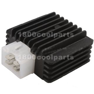 Pin Voltage Regulator Rectifier GY6 ATVs Scooter Moped Go Kart 50cc