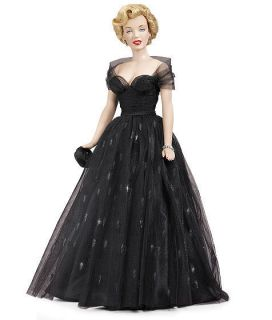 Franklin Mint Marilyn Monroe Vinyl Doll Awards Night Brand New