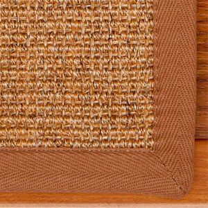 Avenues 9x29 Natural Sisal Carpet Stair Treads and Rug Set of 13 New