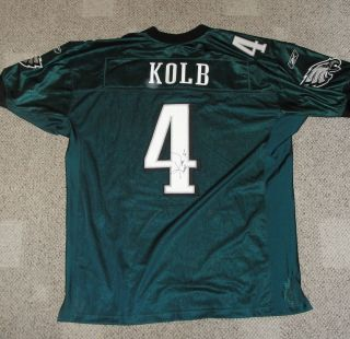 Authentic Philadelphia Eagles Kevin Kolb SIGNED Autographed Jersey