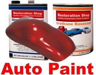 Candy Apple Red Pearl Urethane Basecoat Car Auto Paint