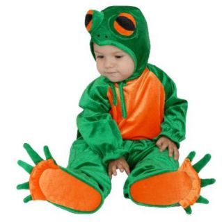 Little Green Frog Baby Halloween Costume Infant 6 18M