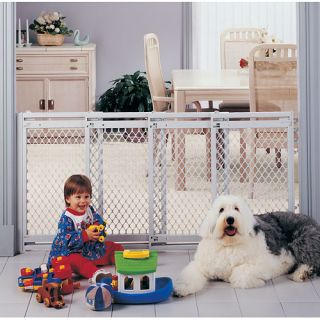 Big 2 3 4 5 Foot Wide Plastic Baby Dog Pet Safety Gate V Feet