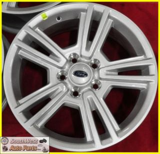 17 5x4 1 2 Silver Wheels Factory Take Off Rims Set 3808
