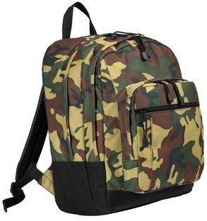 Barrel Racing Racer Camouflage Backpack Horse Rodeo New