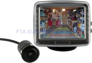 TFT LCD Car Monitor with Backup Camera System with Night Vision