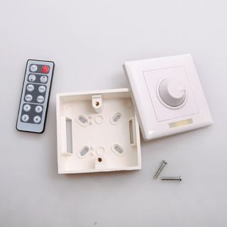 Brightness LED Light Lamp Dimmer IR Remote Control Switch Controller