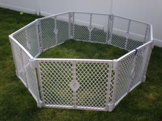 NORTH STATES SUPERYARD XT Baby / Pet Gate & Play Yard 8 PANELS