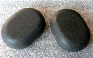 hot stone massage real basalt stones 45 pcs box set