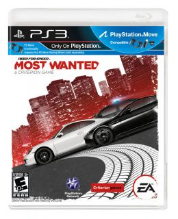 Need for Speed Most Wanted Sony Playstation 3, 2012