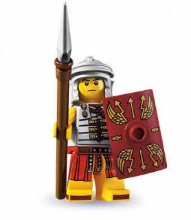 newly listed lego 8827 mini figure series 6 roman soldier