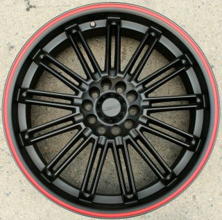 KASINO SLOT 679 20 BLACK R RIMS WHEELS JETTA GOLF GTi MKIV / 20 X 7.5