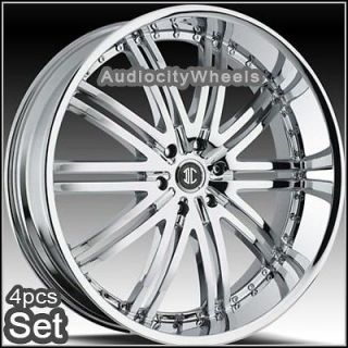 24inch wheels rims chevy tahoe escalade 300c ram time left
