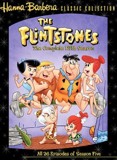 The Flintstones The Complete Fifth Season DVD, 2006, 4 Disc Set