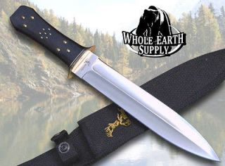 Elk Ridge Large Dagger Hunting Skinning Big Knife Survival Short Sword